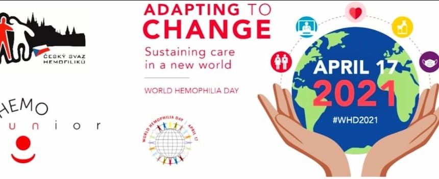 17.4. slavíme Světový den hemofilie