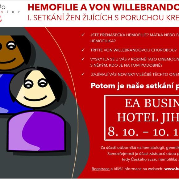 Hemofilie a Von Willebrandova choroba z pohledu žen